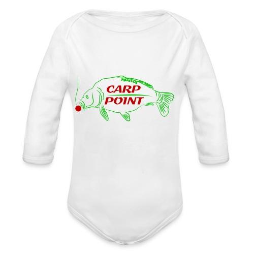 Carp Point new1 mid - Baby Bio-Langarm-Body