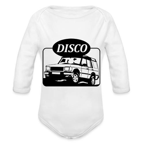 Landie Disco - Autonaut.com - Organic Longsleeve Baby Bodysuit