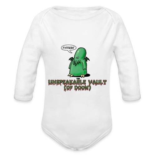 Unspeakable Vault (of Doom) - Body Bébé bio manches longues