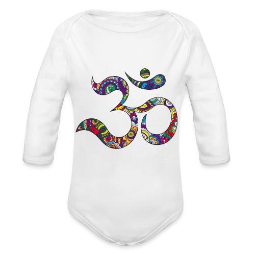 namaste - Body ecologico per neonato a manica lunga