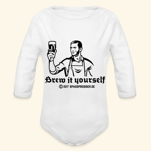 Brew it yourself - Baby Bio-Langarm-Body