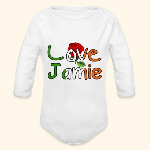 Jlove - Organic Longsleeve Baby Bodysuit