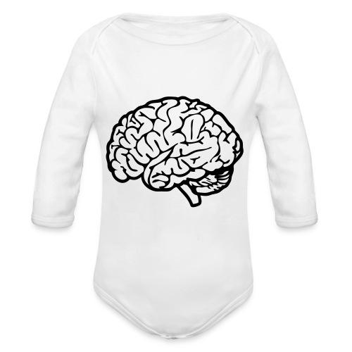 cerveau - Body Bébé bio manches longues