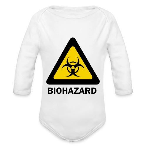 Biohazard - Organic Longsleeve Baby Bodysuit