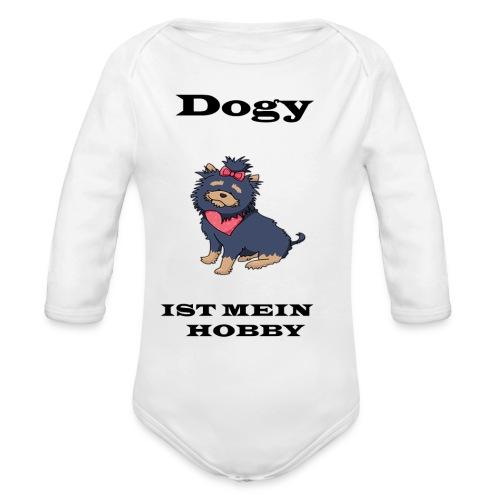 Hund - Baby Bio-Langarm-Body