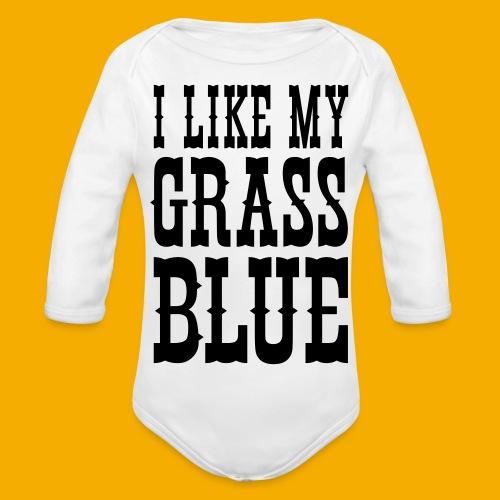 bluegrass - Baby bio-rompertje met lange mouwen