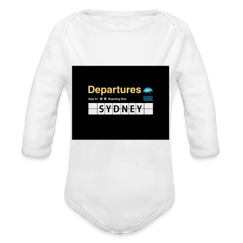 SYDNEY png - Body ecologico per neonato a manica lunga