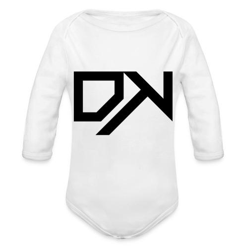 DewKee Logo Samung Galaxy S4 Case Black - Organic Longsleeve Baby Bodysuit