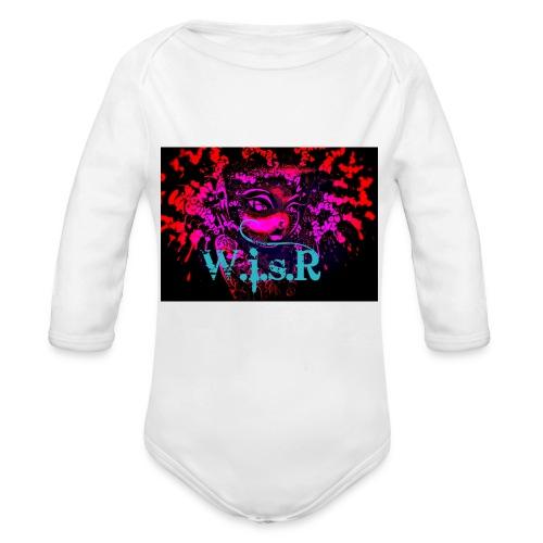 WisR Naisten T- Paita - Vauvan pitkähihainen luomu-body