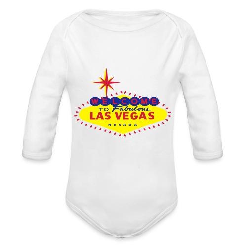 LAS VEGAS - Organic Longsleeve Baby Bodysuit