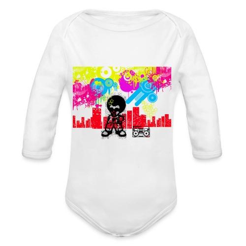 Magliette personalizzate bambini Dancefloor - Body ecologico per neonato a manica lunga