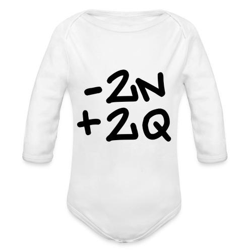 -2n+2q - Organic Longsleeve Baby Bodysuit
