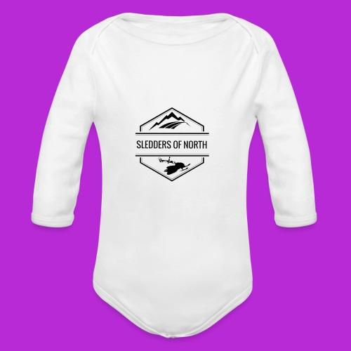 SoN Snapback - Organic Longsleeve Baby Bodysuit