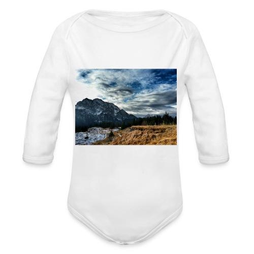 Wolkenband - Baby Bio-Langarm-Body