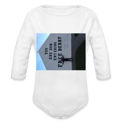 free derry - Organic Longsleeve Baby Bodysuit