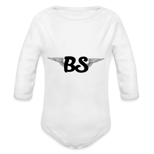 BulletShockYT - Baby bio-rompertje met lange mouwen