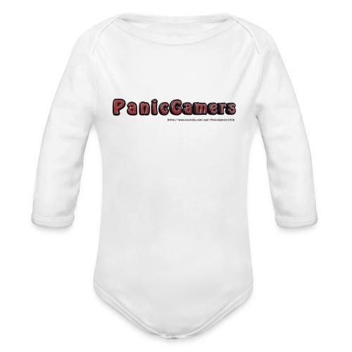 Cover PanicGamers - Body ecologico per neonato a manica lunga