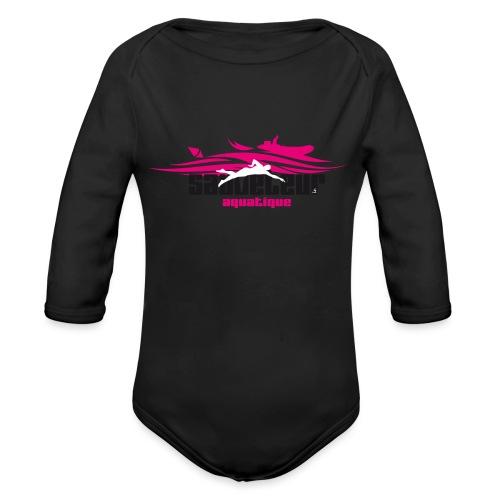 sauveteur aquatique - Body Bébé bio manches longues