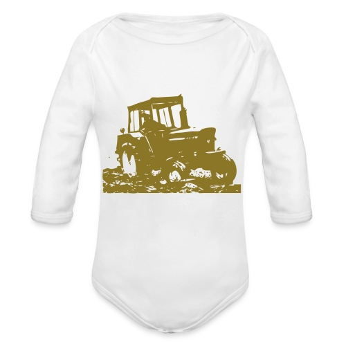 JD3130 - Organic Longsleeve Baby Bodysuit