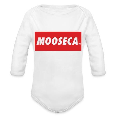 MOSECA BRAND - Body ecologico per neonato a manica lunga