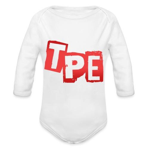 TPE T-shirt - Ekologisk långärmad babybody