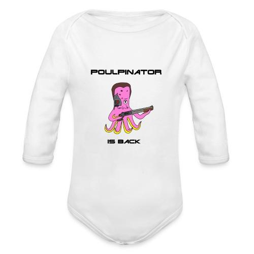 Poulpinator - Body Bébé bio manches longues