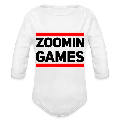 9815 2CRUN ZG - Organic Longsleeve Baby Bodysuit