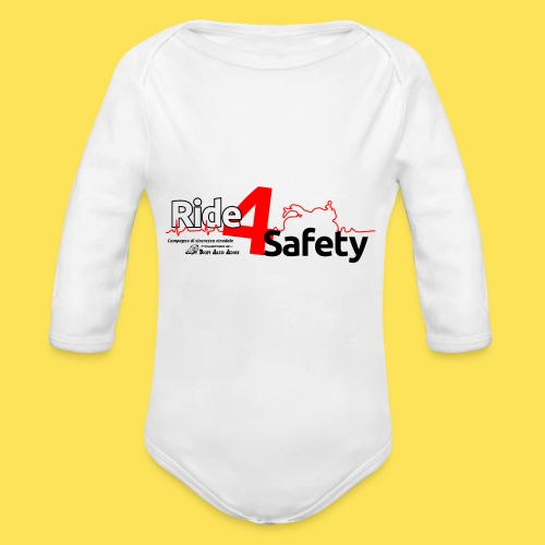 Ride4Safety - Body ecologico per neonato a manica lunga