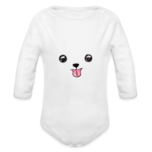 Cutie Pup - Organic Longsleeve Baby Bodysuit