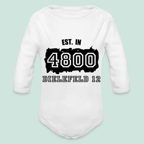 Established 4800 Bielefeld 12 - Baby Bio-Langarm-Body