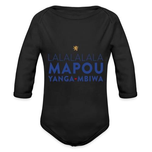 Mapou YANGA-MBIWA - Body Bébé bio manches longues