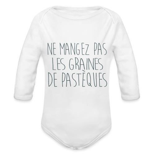 T-Shirt-Femme-Enceinte-personnalise - Body Bébé bio manches longues
