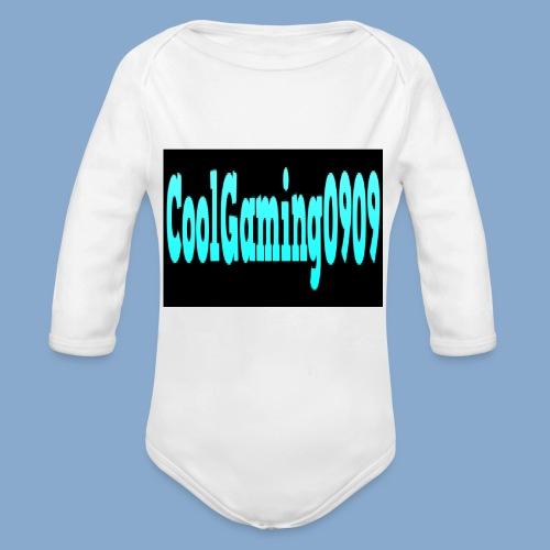coolgaming0909 - Organic Longsleeve Baby Bodysuit