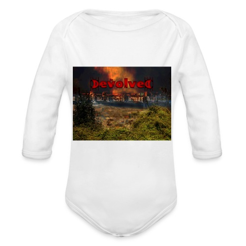 The Devolved Long TS1 - Organic Longsleeve Baby Bodysuit