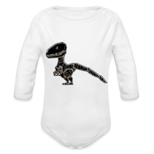 Velociraptor - Organic Longsleeve Baby Bodysuit