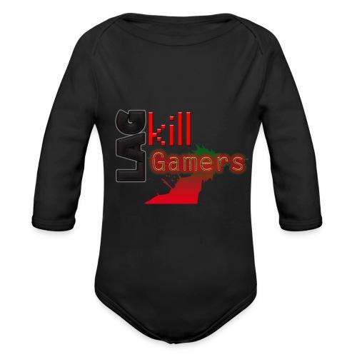 LAG Kills - Organic Longsleeve Baby Bodysuit