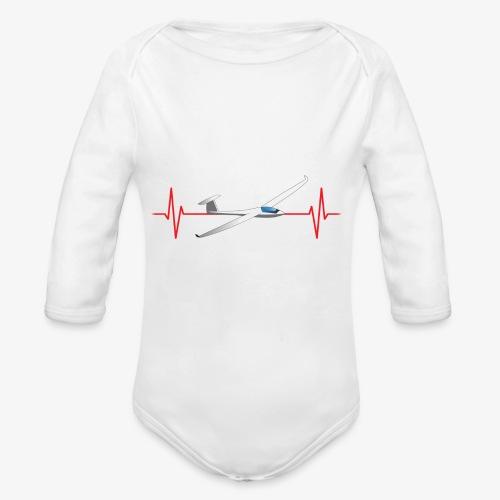 Heart Beat Gliding - Body Bébé bio manches longues