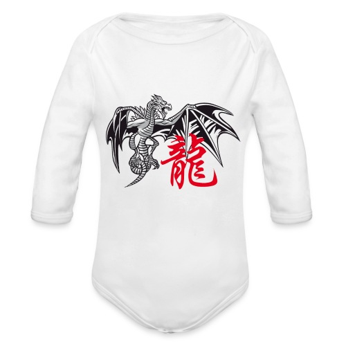 THE YEAR OF THE DRAGON ( - Organic Longsleeve Baby Bodysuit