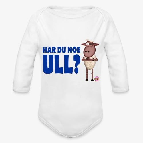 Bæ, bæ, lille lam - Økologisk langermet baby-body