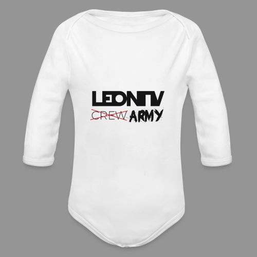 LeonTV ̶c̶̶r̶̶e̶̶w̶ ARMY - Baby Bio-Langarm-Body