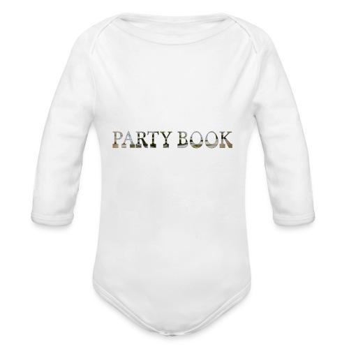 PartyBook - Baby Bio-Langarm-Body