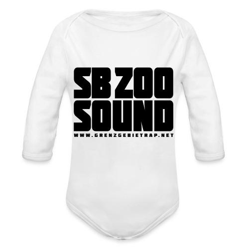 SB ZOO SOUND Blockbuster - Baby Bio-Langarm-Body