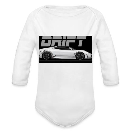 drift - Organic Longsleeve Baby Bodysuit