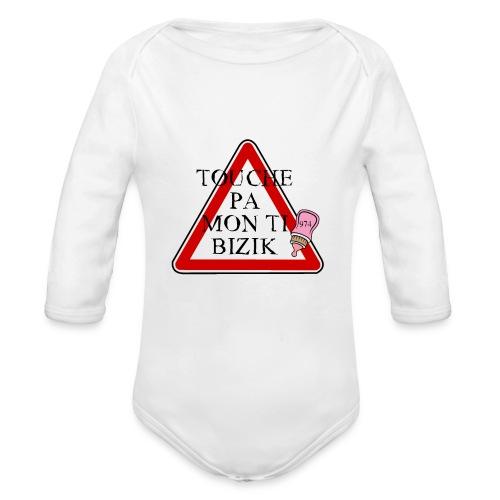 PANNEAU BIZIC 974 - Body bébé bio manches longues
