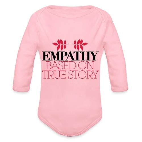 empathy story - Ekologiczne body niemowlęce z długim rękawem