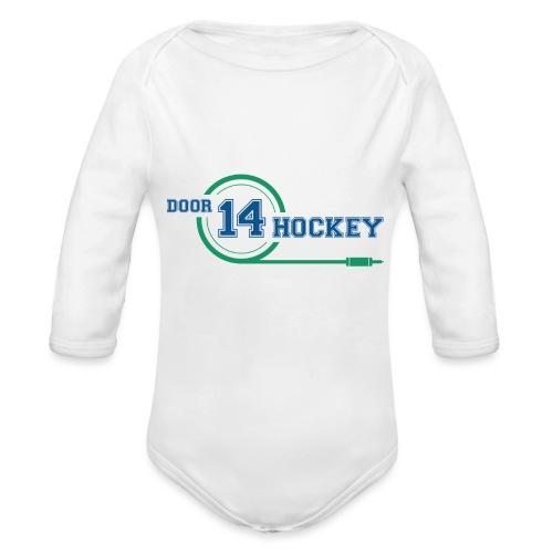 D14 HOCKEY - Organic Longsleeve Baby Bodysuit