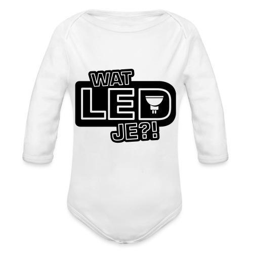 bbb watledje - Organic Longsleeve Baby Bodysuit
