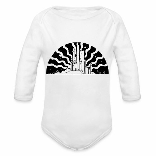Fairytale Castle Sunrise - Baby Bio-Langarm-Body