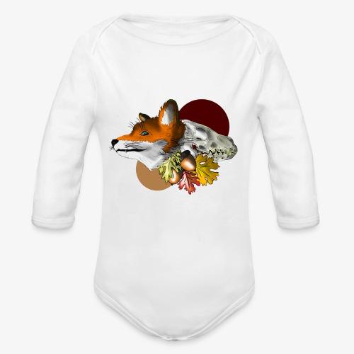 Autumn Foxey - Body ecologico per neonato a manica lunga