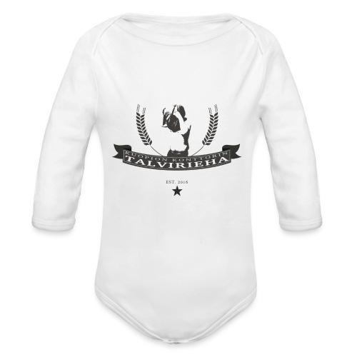 Talvirieha - Vauvan pitkähihainen luomu-body